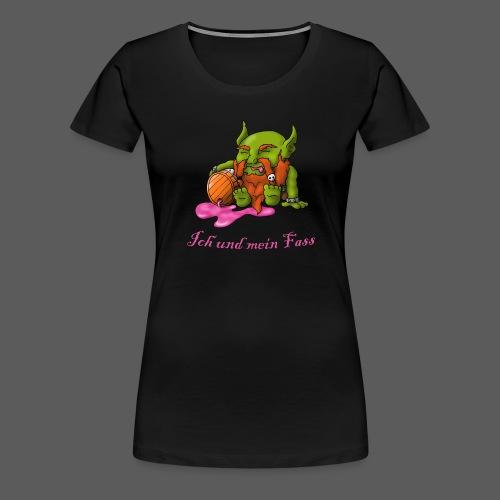 Ich und mein Fass - Frauen Premium T-Shirt