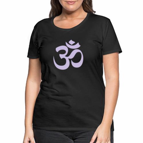 om symbol - Frauen Premium T-Shirt