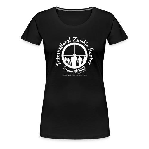 Men's T Shirt - International Zombie Hunter - Women's Premium T-Shirt