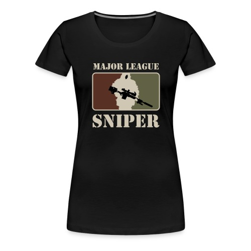 Major League Sniper - Women's Premium T-Shirt