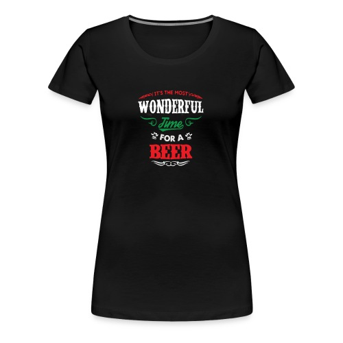 Beer Wonderful - T-shirt Premium Femme