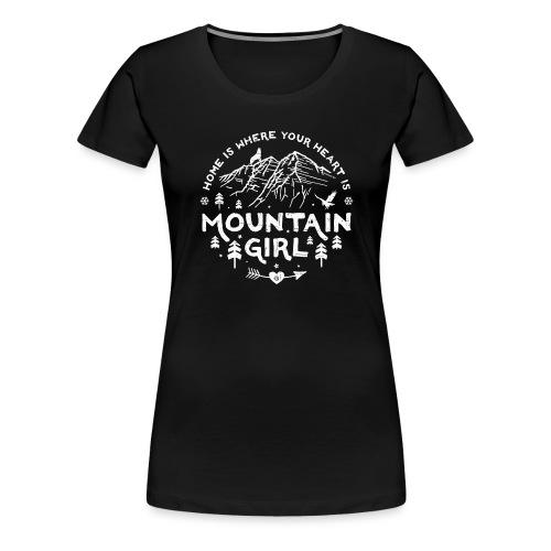 Mountain Girl Shop w - Women's Premium T-Shirt
