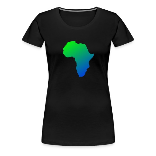 afrikanska logga 2 0 - Premium-T-shirt dam