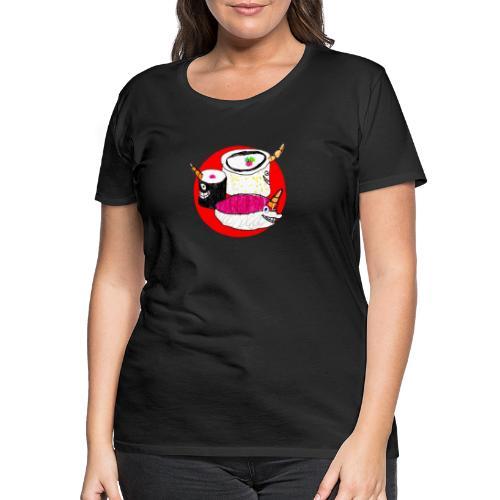 Unicorn Sushi - Women's Premium T-Shirt