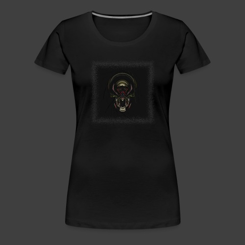 The Scream - Women's Premium T-Shirt