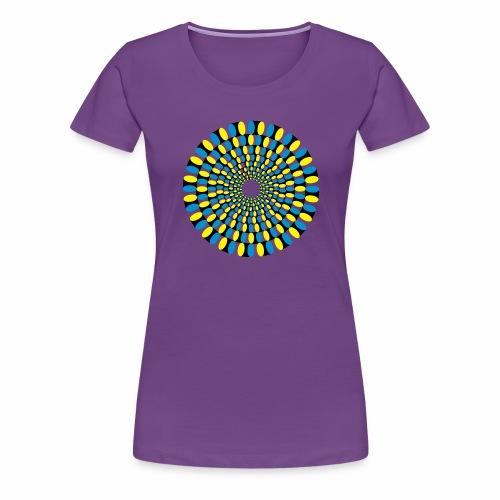 Optische Taeuschung - Frauen Premium T-Shirt