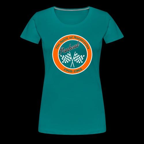 Zielflagge Panhead - Frauen Premium T-Shirt
