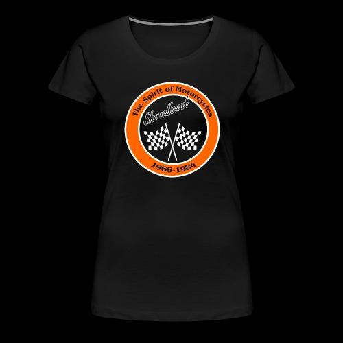Zielflagge Shovelheat - Frauen Premium T-Shirt