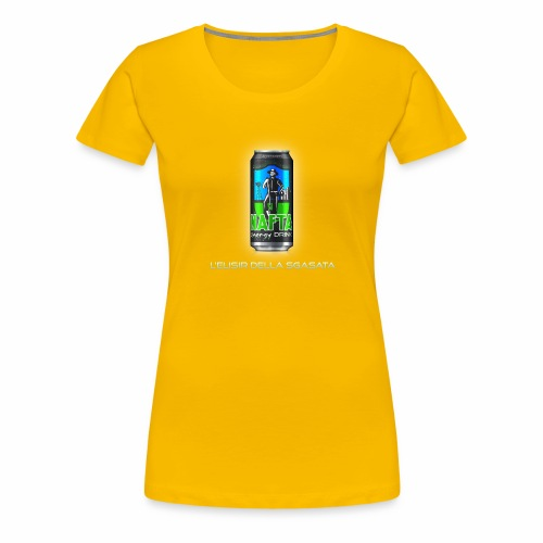 Nafta Energy Drink - Maglietta Premium da donna