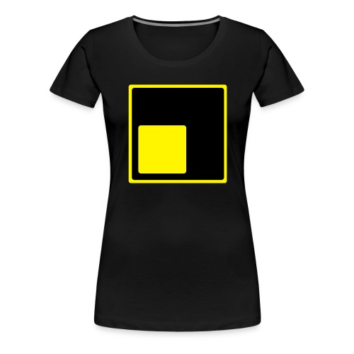 Logo schiefLicht - Frauen Premium T-Shirt