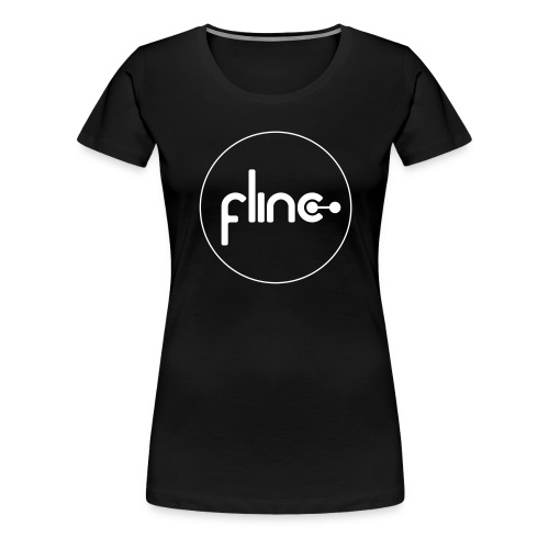 flinc logo outline - Frauen Premium T-Shirt