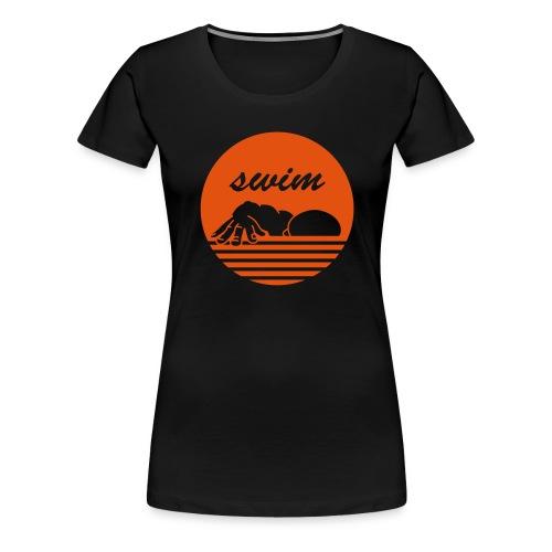 swim! Schwimmer Kraulen - Frauen Premium T-Shirt