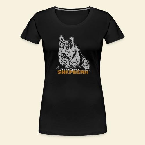DSH im Sprung - Frauen Premium T-Shirt