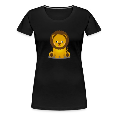Baby Löwe Leon - Frauen Premium T-Shirt
