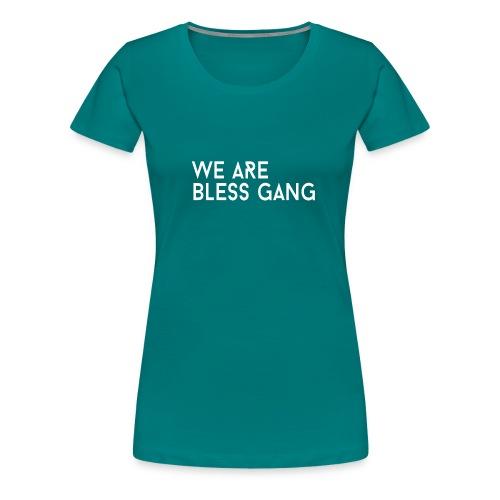 WABG FULL WIT png - Vrouwen Premium T-shirt