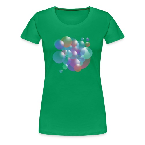 bubble - Frauen Premium T-Shirt