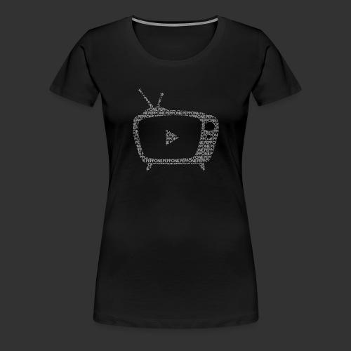 Texty Blanc - T-shirt Premium Femme