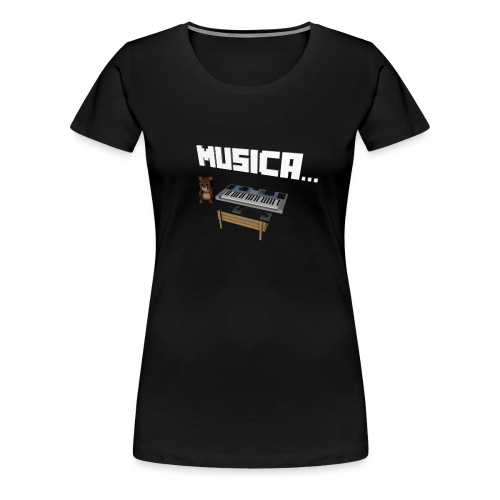 Tedy's Piano - Camiseta premium mujer