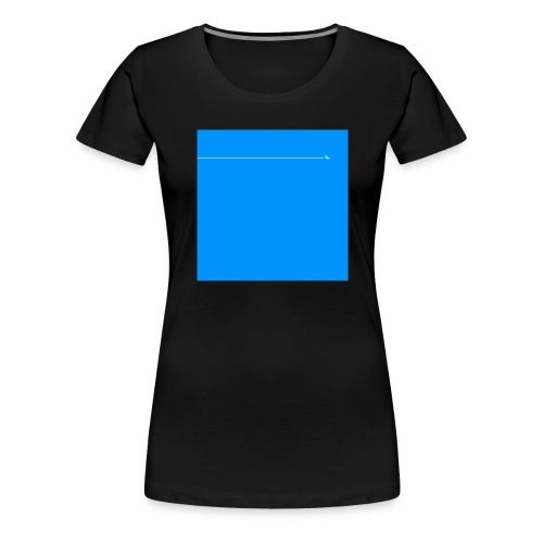 sklyline blue version - T-shirt Premium Femme