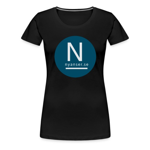 Nyanser.se ärm - Premium-T-shirt dam