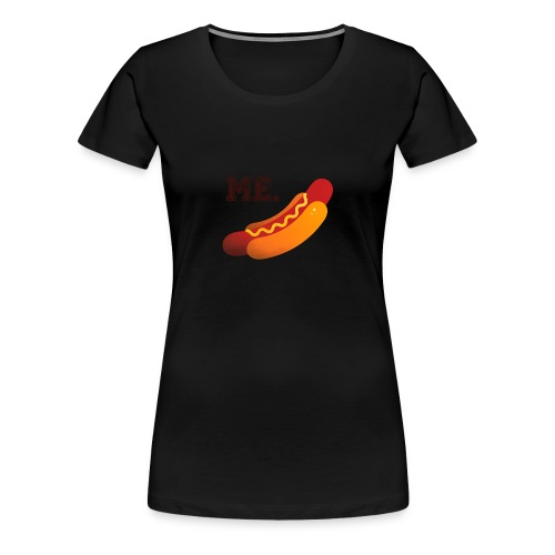hotdog_light MAN - Maglietta Premium da donna