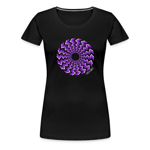pyorre_lila - Naisten premium t-paita