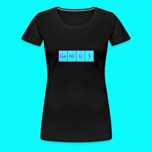 GENIUS T-SHIRT UNISEX - Premium-T-shirt dam