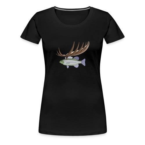 Fiskmoose - Premium-T-shirt dam