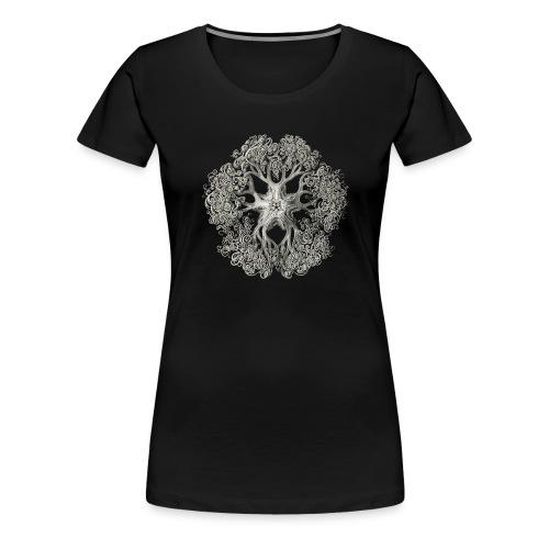 psychedelic art stitch - T-shirt Premium Femme