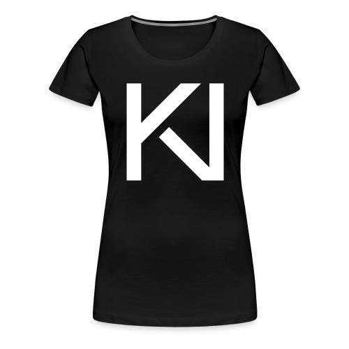 KV Logo png - Women's Premium T-Shirt