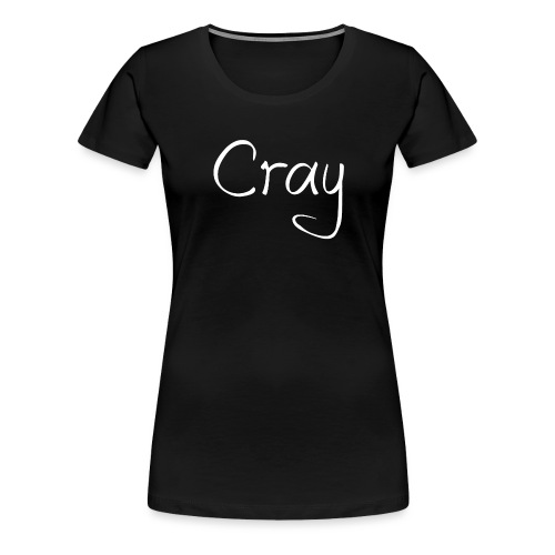 Cray Lang Ärmel TShirt für über 14 jahren - Frauen Premium T-Shirt