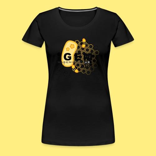 Logo - shirt men - Vrouwen Premium T-shirt