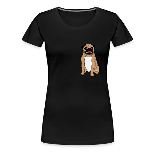 Puggie - Naisten premium t-paita