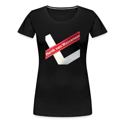 Henkvanwassenaar shirt - Vrouwen Premium T-shirt