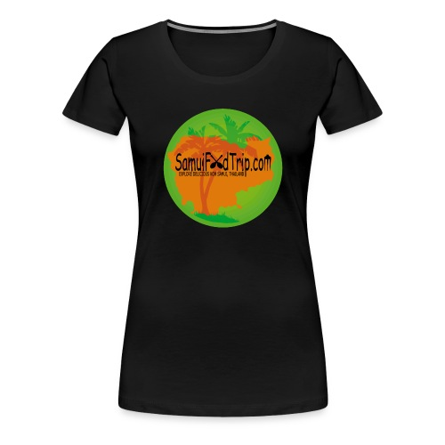 SamuiFoodTrip - Frauen Premium T-Shirt
