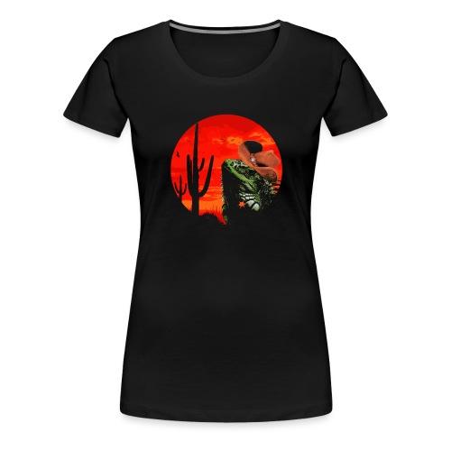 Wild Iguana - Women's Premium T-Shirt