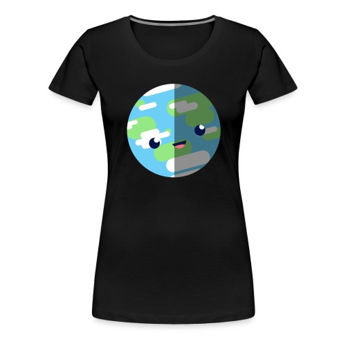 Cute Earth - Women's Premium T-Shirt