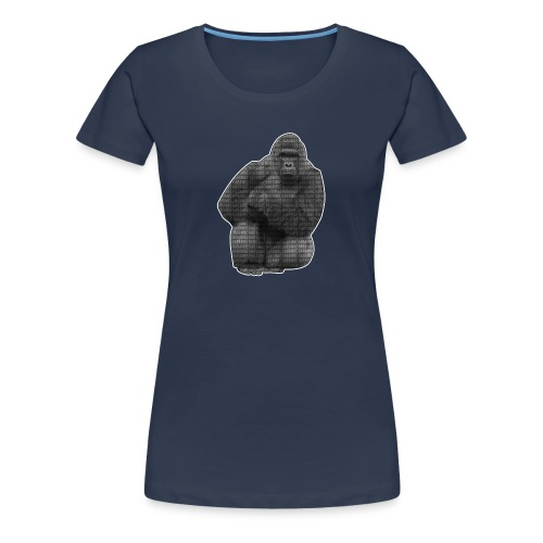 harambe 2k png - Dame premium T-shirt