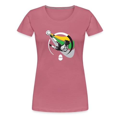 Ninho Over Footbal - Maglietta Premium da donna
