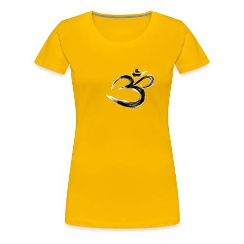 Black OM - Premium-T-shirt dam