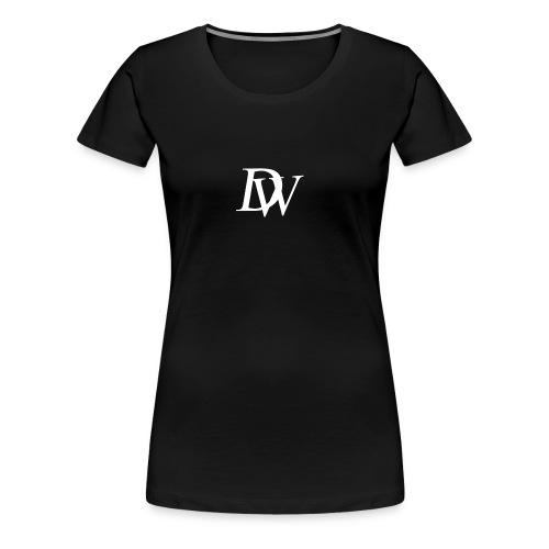 Dewus Pullover Schwarz-Weiß - Frauen Premium T-Shirt
