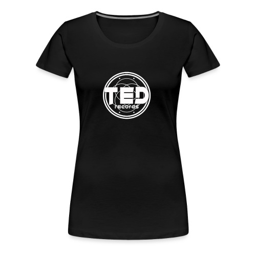 LOGO TED RECORDS - T-shirt Premium Femme