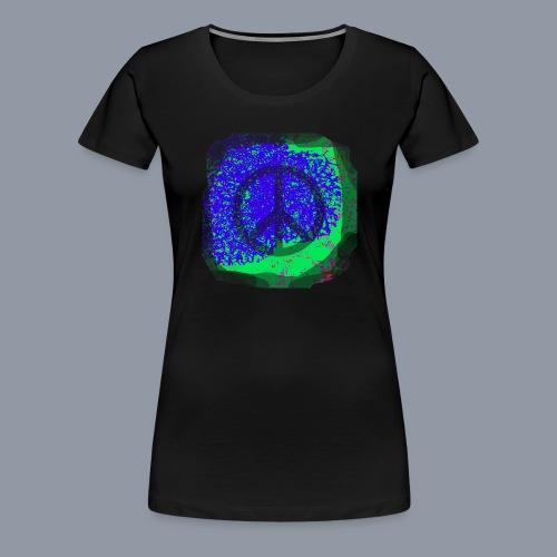 Spray Peace - Frauen Premium T-Shirt