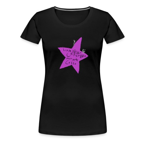 Needs More Cello - Women's Premium T-Shirt
