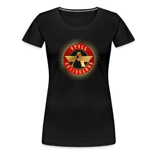 Stall Arvingarna-logo - Premium-T-shirt dam