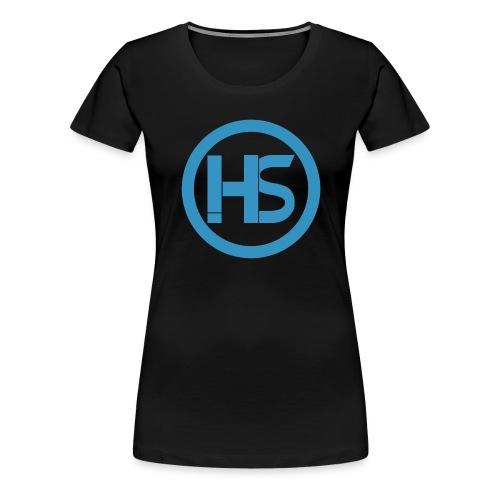 Hack stream Studio Logga - Premium-T-shirt dam