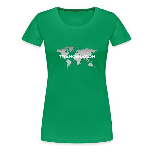 TRANCE NATION - Premium-T-shirt dam