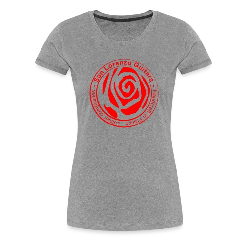 San Lorenzo Guitars - T-shirt Premium Femme