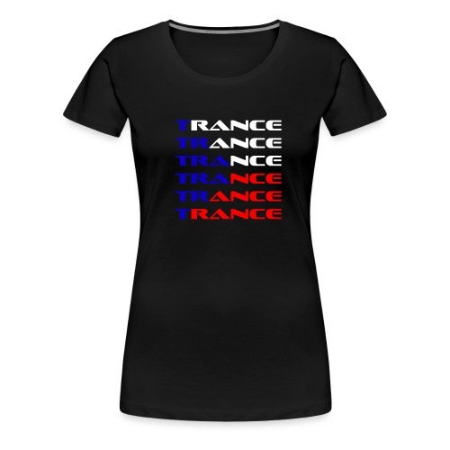 Trance Tjeckien - Premium-T-shirt dam