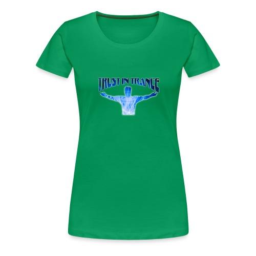 trust_in_trance - Premium-T-shirt dam